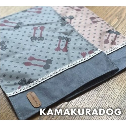 ランチョンマット(撥水加工) 犬のお散歩に kamakuradog