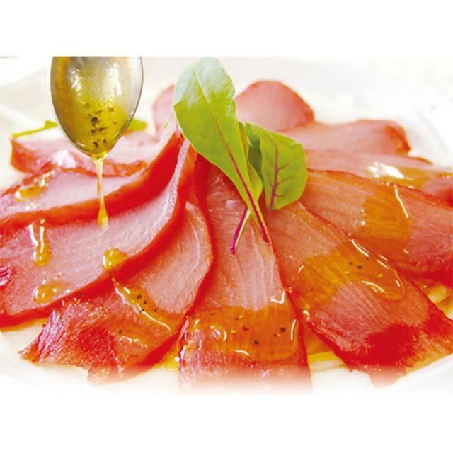 まぐろの生ハム 限定モデル マグロ 鮪 [正規販売店] 燻製 冷凍 ひもの 熱海 釜鶴