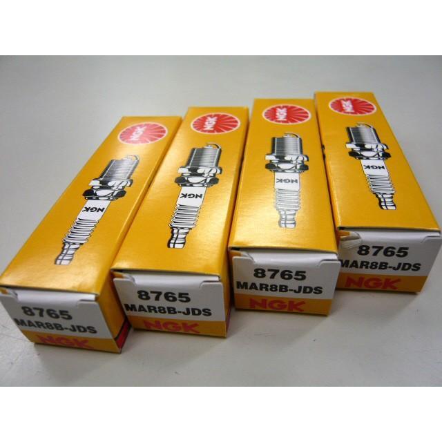 NGK スパークプラグ MAR8B-JDS 4本セット 8765 BMW R1200GS ストア アドベンチャー 12127726112 絶品 R nine R1200R T MAR8BJDS R1200RT