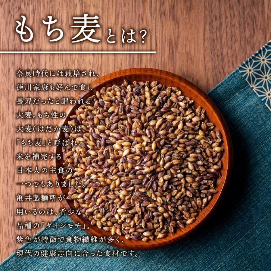 もち麦うどん 生麺 8食入り(つゆあり)|kamei-noodle|04