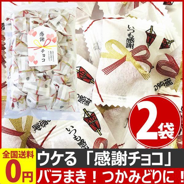 バラまき!つかみどり! ウケる「感謝チョコ」 1袋175g(個包装込み)×2袋 ゆうパケット便 メール便 送料無料 つかみどり チョコ|kamenosuke