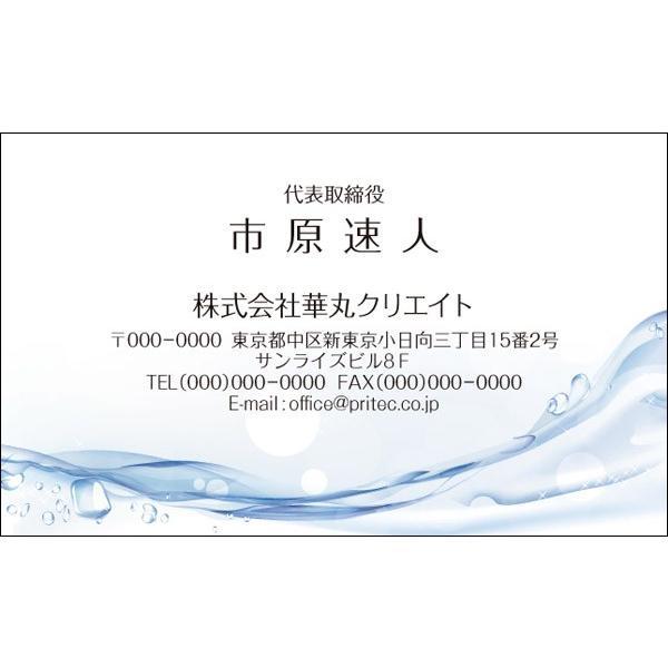 ネコポス 受注生産品 送料無料 名刺作成 限定特価 VCO-020 クールデザイン 100枚入