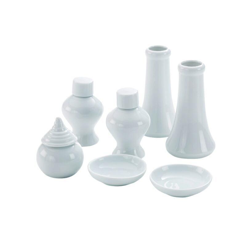 神棚 お供え 神具セット 人気 おすすめ 中 7点セット 皿 瓶子 RSL 水玉 セール品 榊立て 陶器