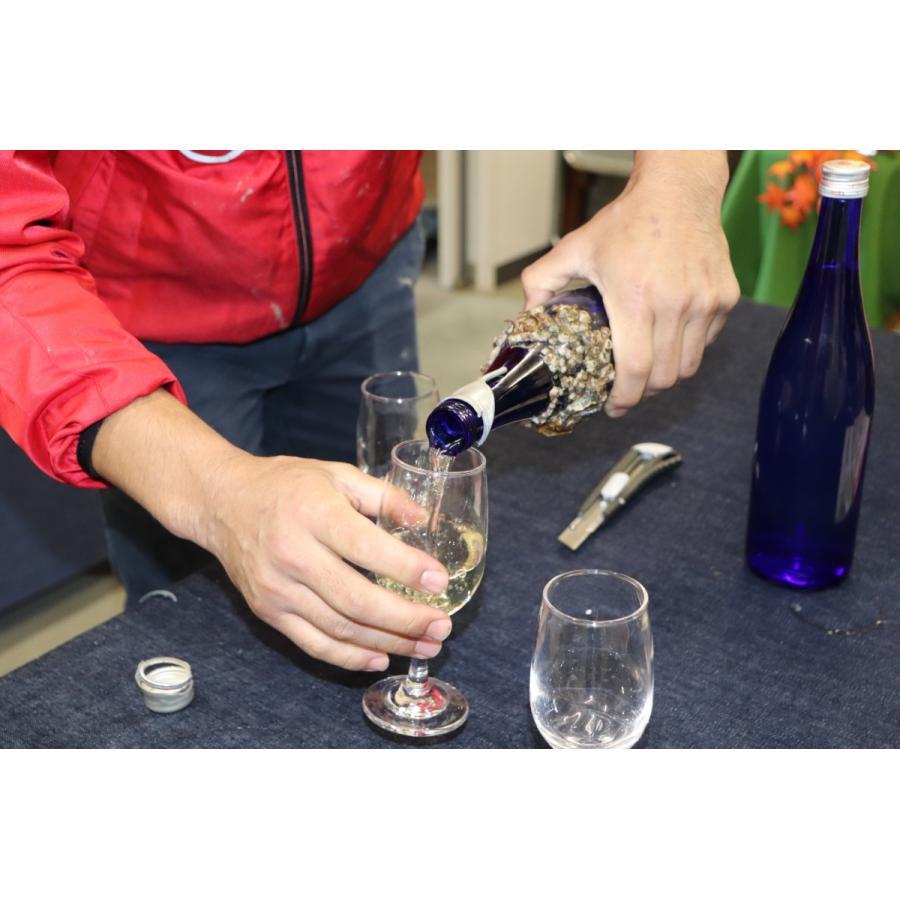 牡蠣と共に育つ酒2021(純米吟醸海中熟成酒1本+寄島産殻付牡蠣約1kg) 【12月下旬頃から蔵出し開始!】|kamikokoro|11