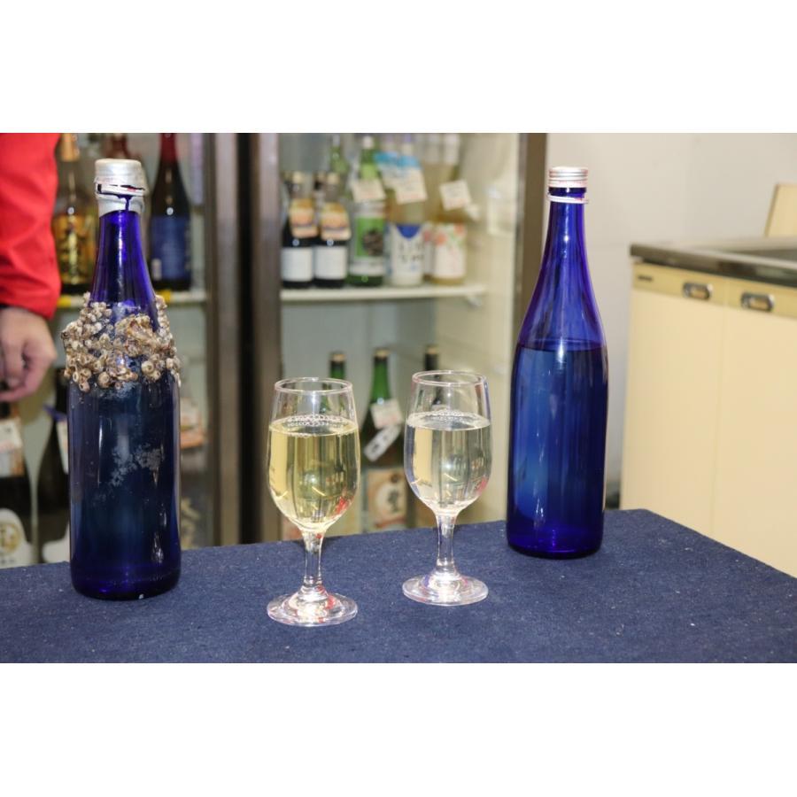 牡蠣と共に育つ酒2021(純米吟醸海中熟成酒1本+寄島産殻付牡蠣約1kg) 【12月下旬頃から蔵出し開始!】|kamikokoro|12