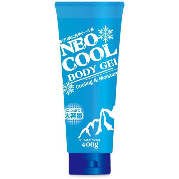 超特価 NEOクール ネオクール ボディジェル 400g 大容量 冷感 新作通販 日焼け クールダウン お買い得
