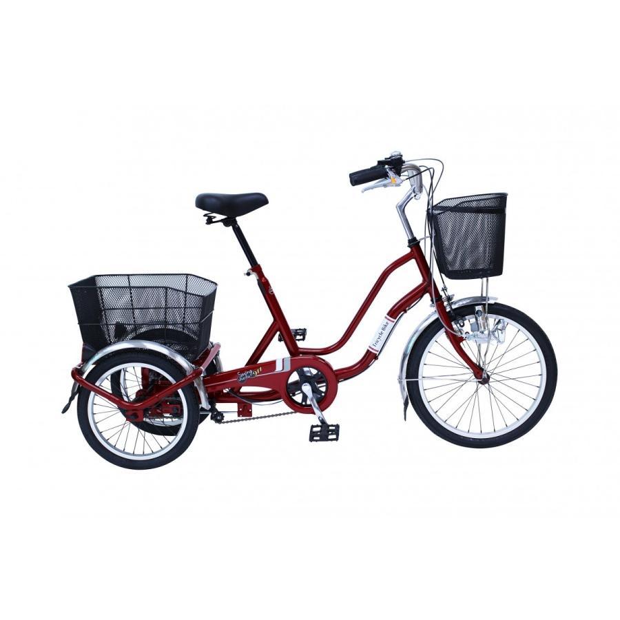 SWING CHARLIE911 ノーパンク 20インチ三輪自転車