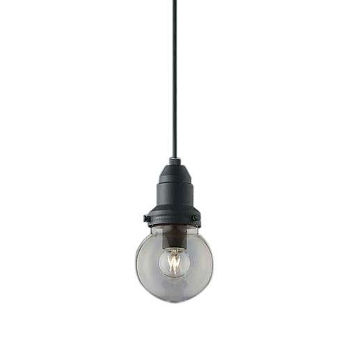コイズミ照明 クリア球ペンダント プラグ 黒サテン塗装 AP45584L