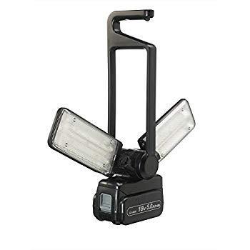 パナソニック LEDマルチ投光器 充電式 1500ルーメン 本体のみ (14.4V/18V/21.6V対応) ブラック EZ37C3
