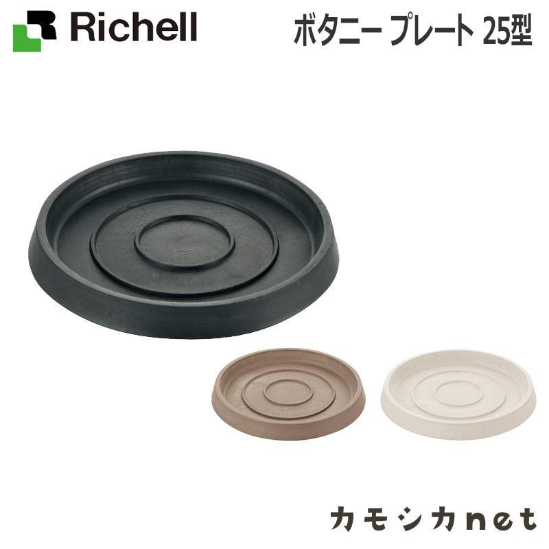 大注目 鉢 WEB限定 ソーサー 受け皿 ガーデニング リッチェル Richell ボタニー 25型 プレート
