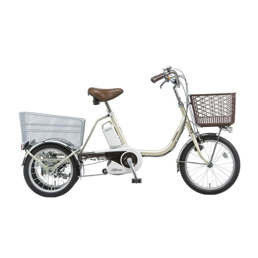(完売御礼) 電動三輪自転車 BE-ELR83 T STチタンシルバー パナソニック ビビライフ 電動アシスト自転車 16A 大容量 電動アシストサイクル 三輪車  完成車|kamy2|02