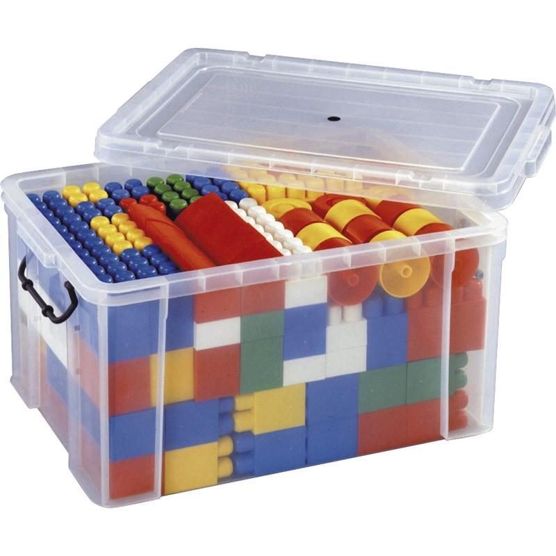 凹凸ブロック コンテナケース入BB128  コンテナケース:460×630×340mm、凹凸ブロック×128 PP樹脂