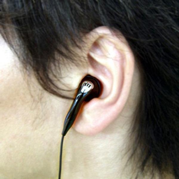 イヤホンマイク 有線 USB Type-C タイプC用 片耳用 ハンズフリー通話対応 コード長1.4m|kanaemina|02