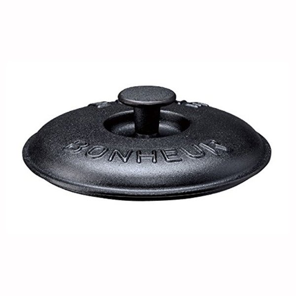 スキレットカバー 蓋 フタ 鉄鋳物製 15cm用 アミ付き kanaemina 02