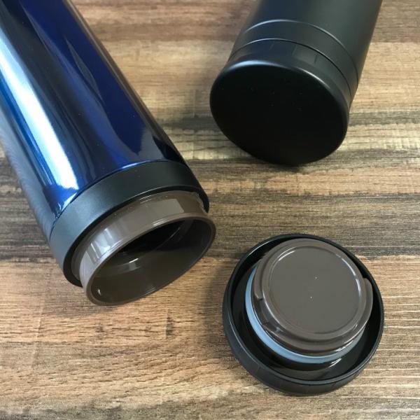 水筒 マグボトル 500ml おしゃれ 保温 保冷 直飲み 軽量 真空二重ステンレス シンプル 軽い|kanaemina|03