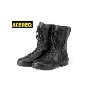 安全靴 レディース対応 ブーツ 女性 半長靴 編み上げ セーフティーシューズ 青木産業 D-300