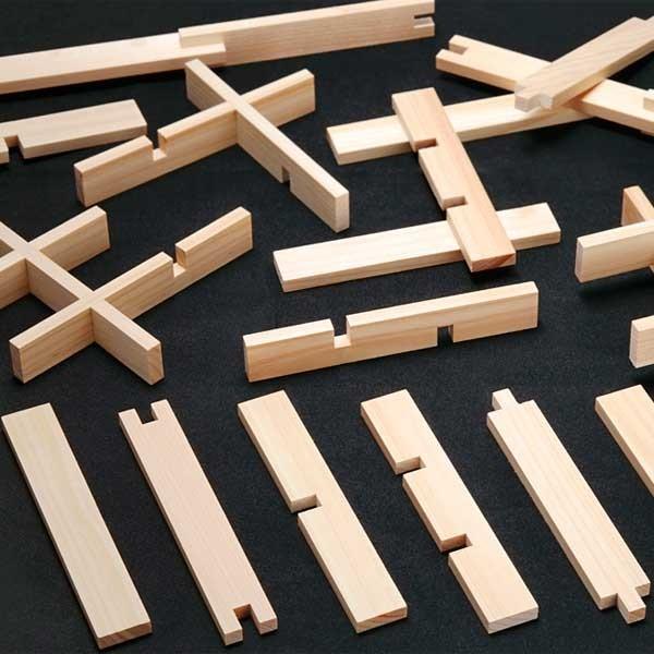 くみっこ倶楽部 【知育玩具】創造積み木くみっこ1800本(6種各300本)