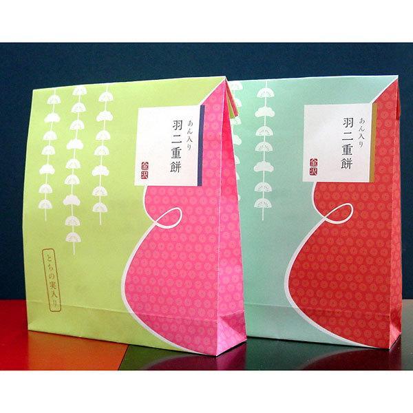 ≪菓匠みのや≫金沢 あん入り羽二重餅(とちの実入り)(5個入)|kanazawa-honpo|02