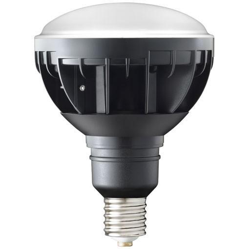 岩崎電気 LDR30N-H-E39/B850(旧形式:LDR33N-H/E39B750) レディオックLEDアイランプ 30W 〈E39口金〉 昼白色 白熱電球270W相当 黒色塗装