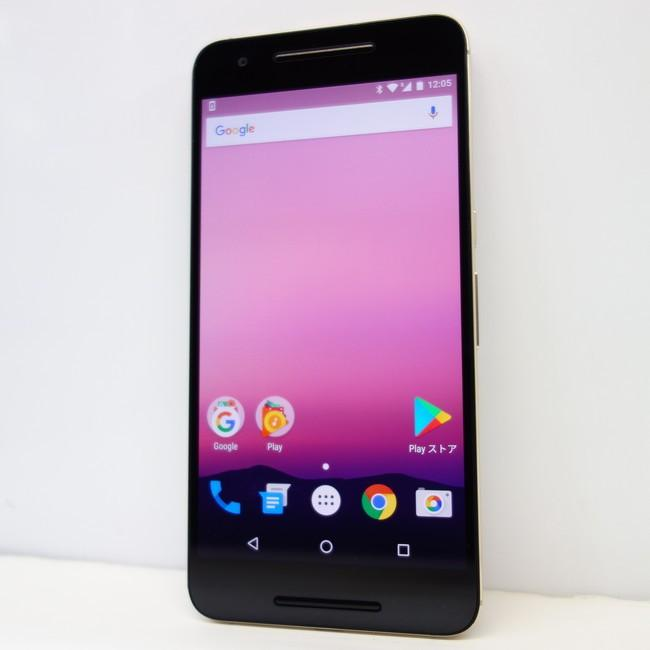 d8a645ddd7 Nexus6P 32GB ゴールド SIMフリー 64GB 5.7インチ Google☆ :H1511 ...
