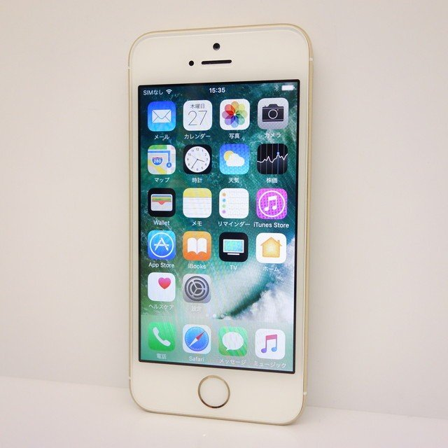 iPhone SE 64GB A1662 SIMフリー 格安SIM利用可  ゴールド  ★|kandadenki|02
