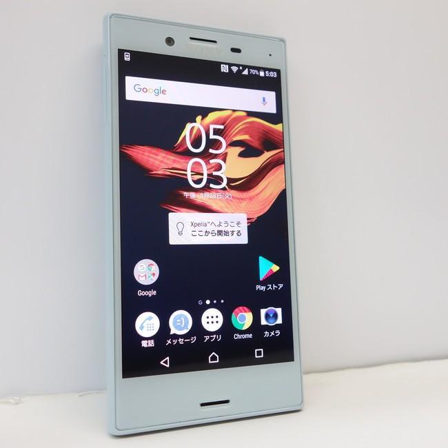 Sony Xperia X Compact ★F5321★ 4G LTE SIMフリー★ミストブルー★|kandadenki