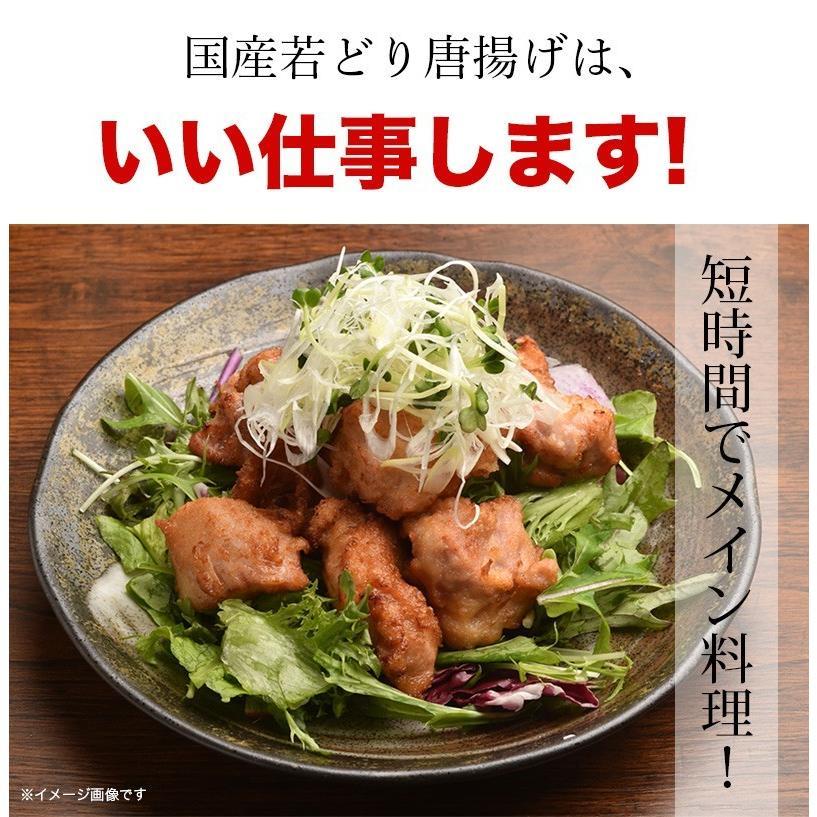 業務用 大盛り 国産若鶏唐揚げ 約1kgパック kande-pro 06