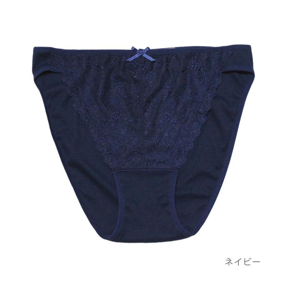 ふんどしショーツ レディース 女性用  綿100% コットン 深履き S M L LL 3L  締め付けない ふんどしパンツ シーピース ショーツ フローラ kandume-com 07