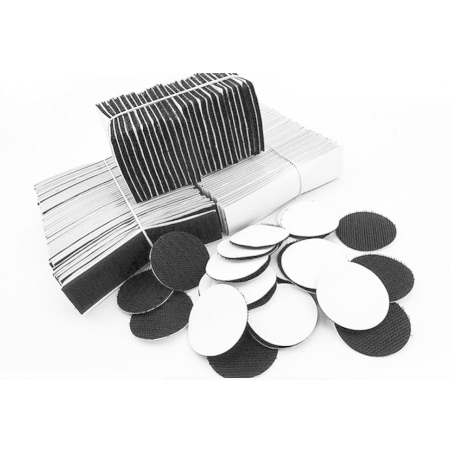 面ファスナー 両面テープ 方形 超強力 5枚 裁縫 手芸 オス メス 固定 業務 粘着 黒 白 ※ クラレ の マジックテープ ではありません。|kanedasyoten|07