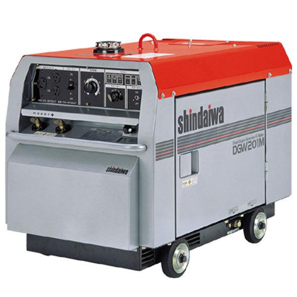 50000-109 (送料無料) エンジン溶接機 DGW-201M やまびこ【新ダイワ】
