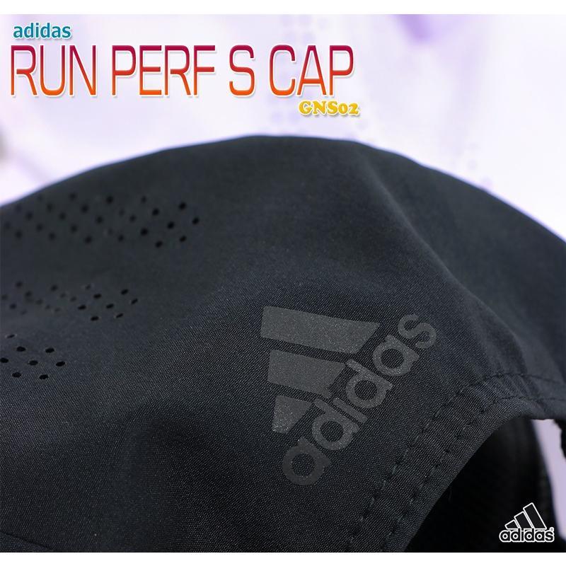 アディダス キャップ 帽子 ランニング ランナー ジョギング ウォーキング 軽量 涼しい 薄手 メンズ レディース 大人 キッズ 子供 男女兼用/RUN PERF S CAP GNS02|kanerin|02