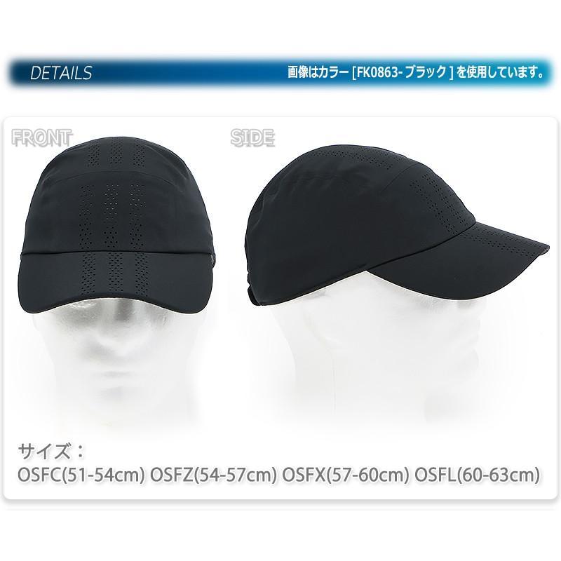アディダス キャップ 帽子 ランニング ランナー ジョギング ウォーキング 軽量 涼しい 薄手 メンズ レディース 大人 キッズ 子供 男女兼用/RUN PERF S CAP GNS02|kanerin|03