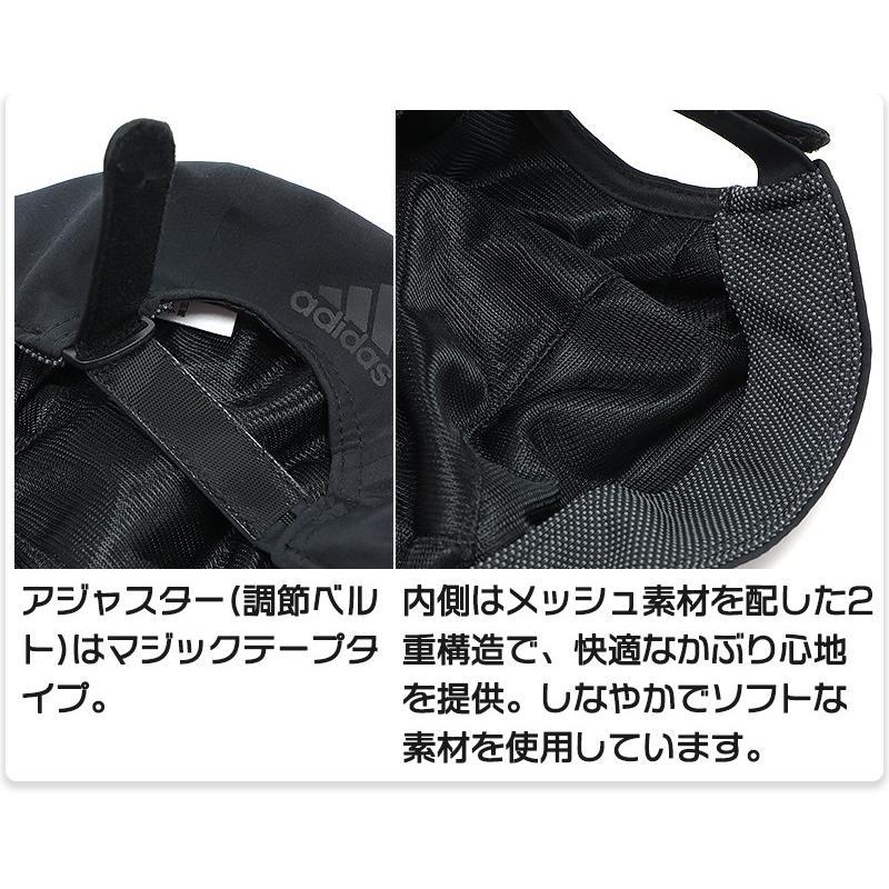 アディダス キャップ 帽子 ランニング ランナー ジョギング ウォーキング 軽量 涼しい 薄手 メンズ レディース 大人 キッズ 子供 男女兼用/RUN PERF S CAP GNS02|kanerin|05