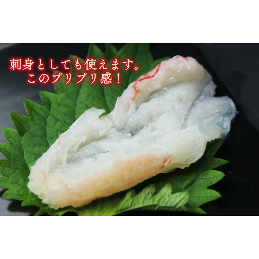 生ずわいがに折棒肉 総重量1kg / かに 蟹 カニ ズワイガニ ずわいがに 生食 刺身 しゃぶしゃぶ|kanipara|04