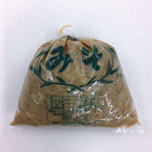 【愛媛 宇和島】はだか麦100%麦味噌1kg(麦みそ)【盛夏時クール便推奨品】|kankitsu