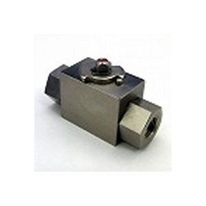 高圧ボールバルブ二方高圧ボールバルブ(ハンドルなし) RcメネジFB28-SC4JN | Rc1