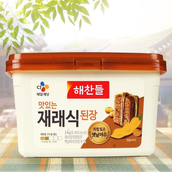 ヘチャンドル味噌3kg/韓国調味料/韓国味噌|kankoku-ichiba