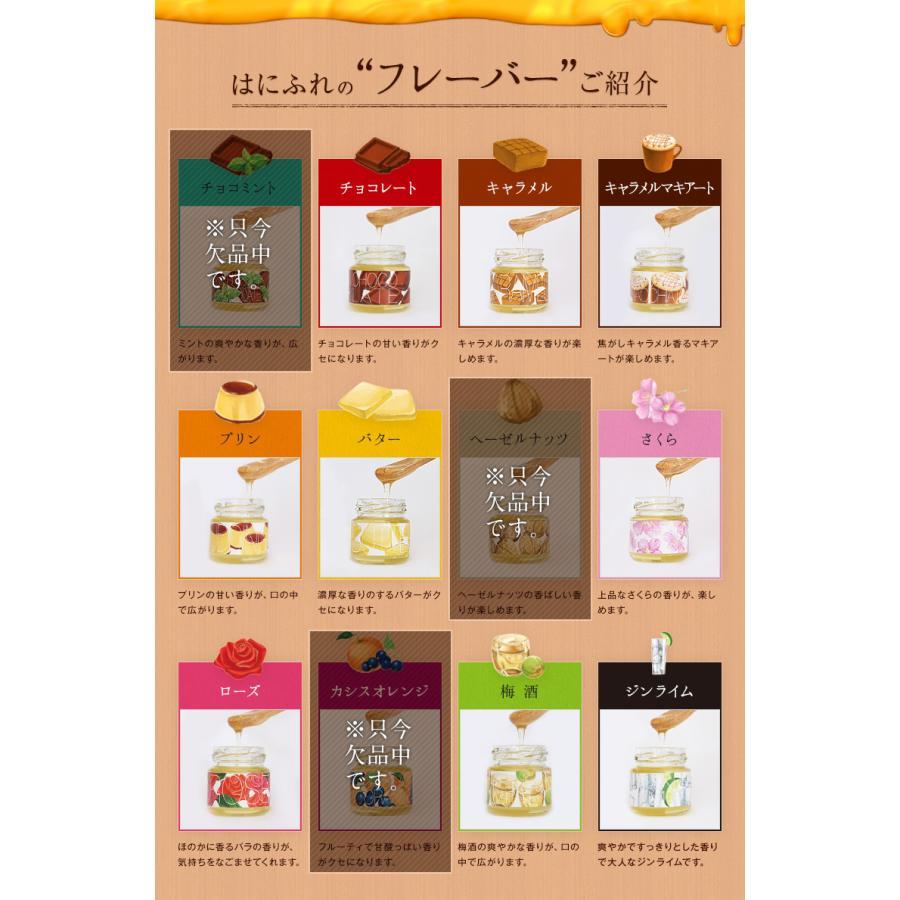 送料無料はにふれ  香りを楽しむフレーバーハニー5種セット(45g×5個)12種から5つ選べる はちみつギフト  蜂蜜専門店 かの蜂|kanohachi|02
