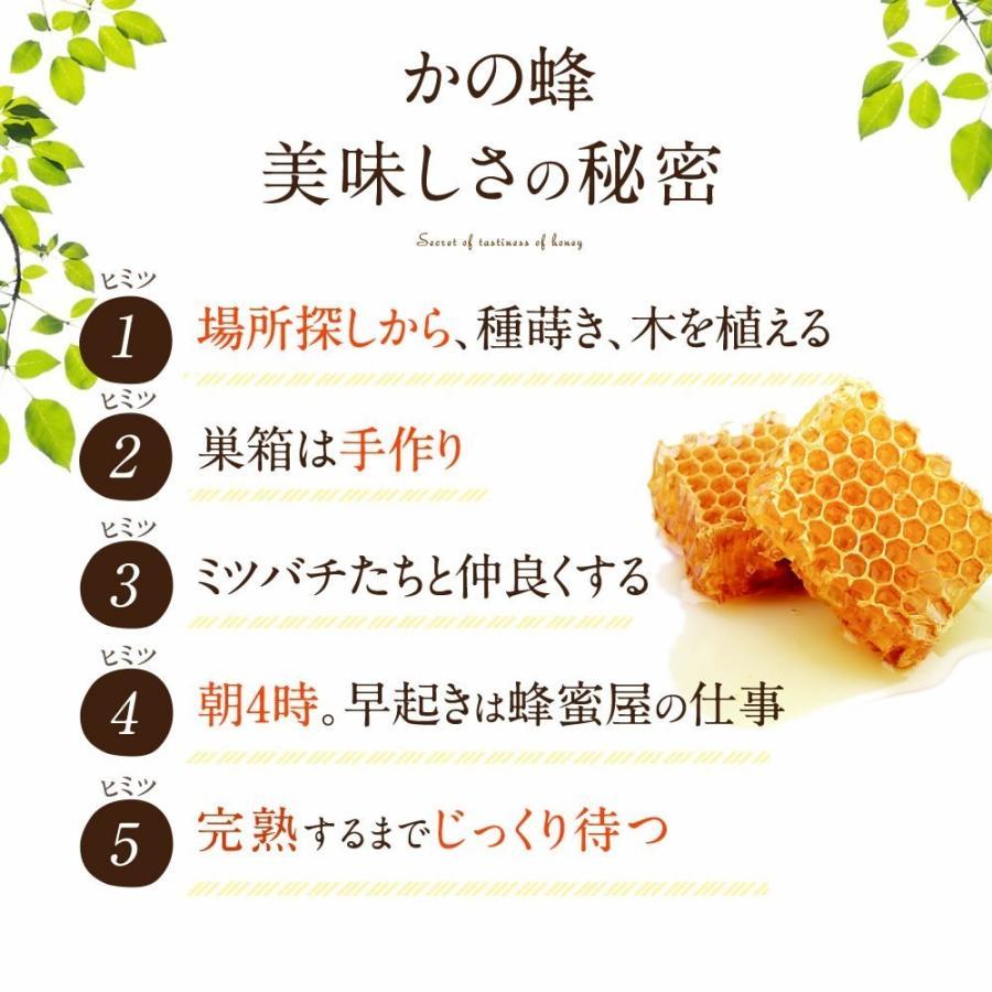 国産 百花はちみつ 国産蜂蜜 とんがり容器 1000g  はちみつ専門店 かの蜂|kanohachi|05