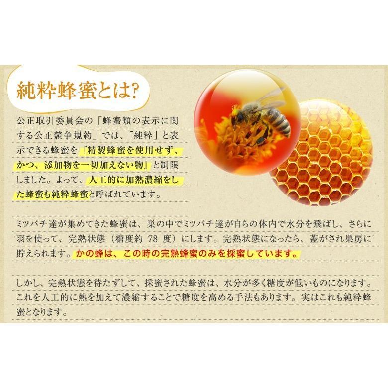 国産 百花はちみつ 国産蜂蜜 とんがり容器 1000g  はちみつ専門店 かの蜂|kanohachi|07
