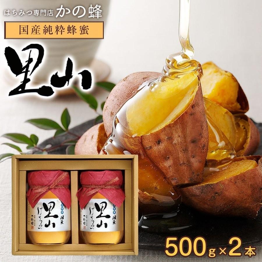 母の日 ギフト 蜂蜜ギフト 送料無料 国産はちみつ国産里山蜂蜜 500g×2本セット 国産はちみつギフトセット蜂蜜専門店 かの蜂|kanohachi