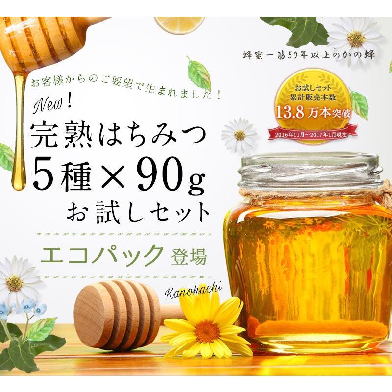完熟純粋蜂蜜エコパック
