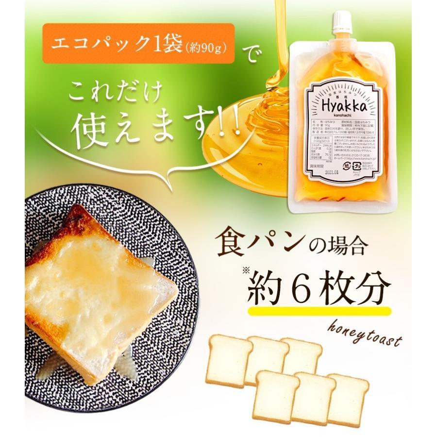 蜂蜜お試しセット エコパック  メール便送料無料 国産外国産の純粋はちみつ30種以上(1つ90g)から5つ選べる  蜂蜜専門店かの蜂|kanohachi|14