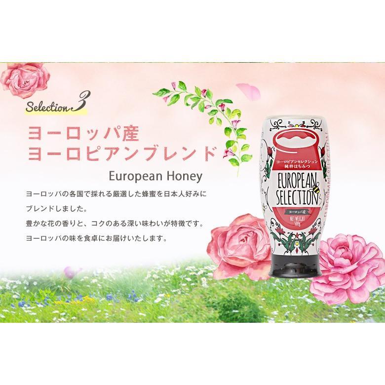 蜂蜜 ギフト ピュアハニープッシュボトル3種(国産・ヨーロッパ産・アルゼンチン産)セット PURE HONEY  国産蜂蜜 はちみつ 蜂蜜専門店 かの蜂 kanohachi 07