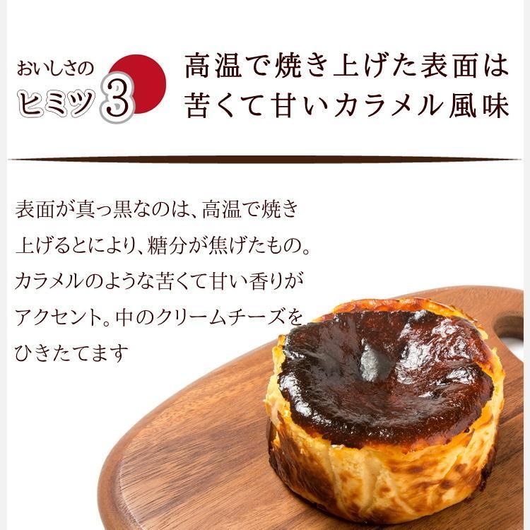 バスクチーズケーキ 取り寄せ  誕生日 ギフト スイーツ プレゼント 美食の街サンセバスチャン生まれ 真っ黒 チーズケーキ 高級 バスク ハロウィン|kanoka-cake|08