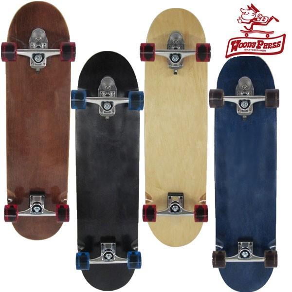 今ならレンチ付き!スケートボード コンプリート スケボー 36インチ スラスター2 サーフスケート woody press ウッディプレス