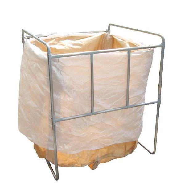 コンテナバッグスタンド 折りたたみ式で省スペース軽量 1m3バッグ対応 AKF-1|kanryu|02