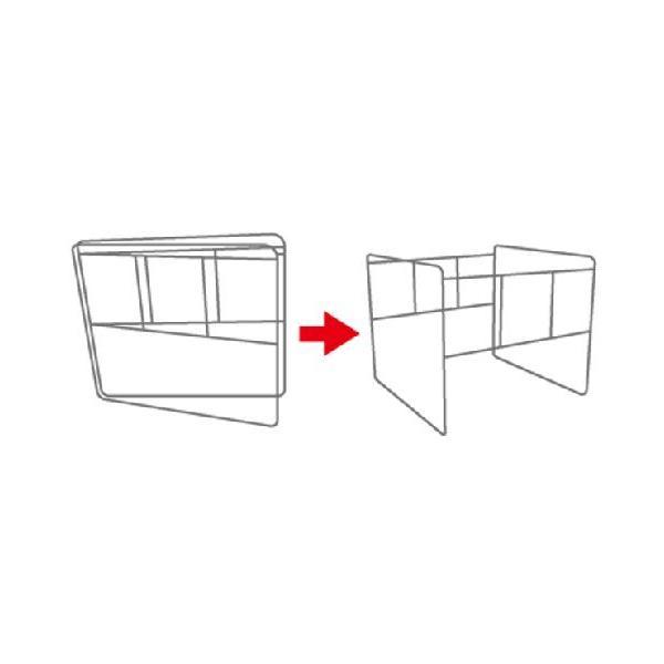コンテナバッグスタンド 折りたたみ式で省スペース軽量 1m3バッグ対応 AKF-1|kanryu|03