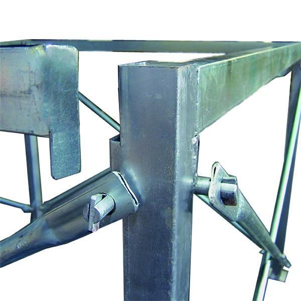 コンテナバッグ スタンド 差しこみ式角型 1m3バッグ対応 FK-1 kanryu 03