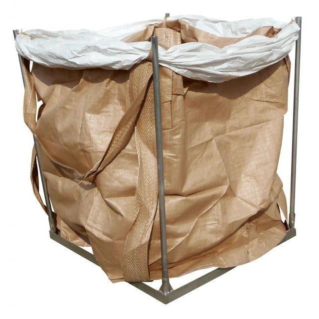 コンテナバッグスタンド 逆三角形 差しこみ式角型スタンド 1m3バッグ対応 FV-1|kanryu|02